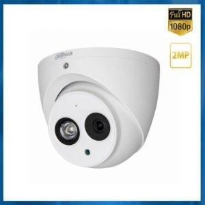 camera dahua dome 4mp avec audio integrée