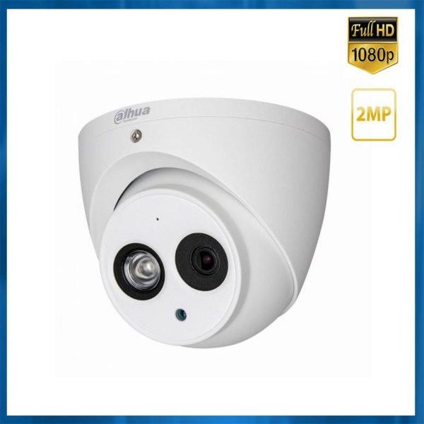 camera dahua dome 4mp avec audio integrée