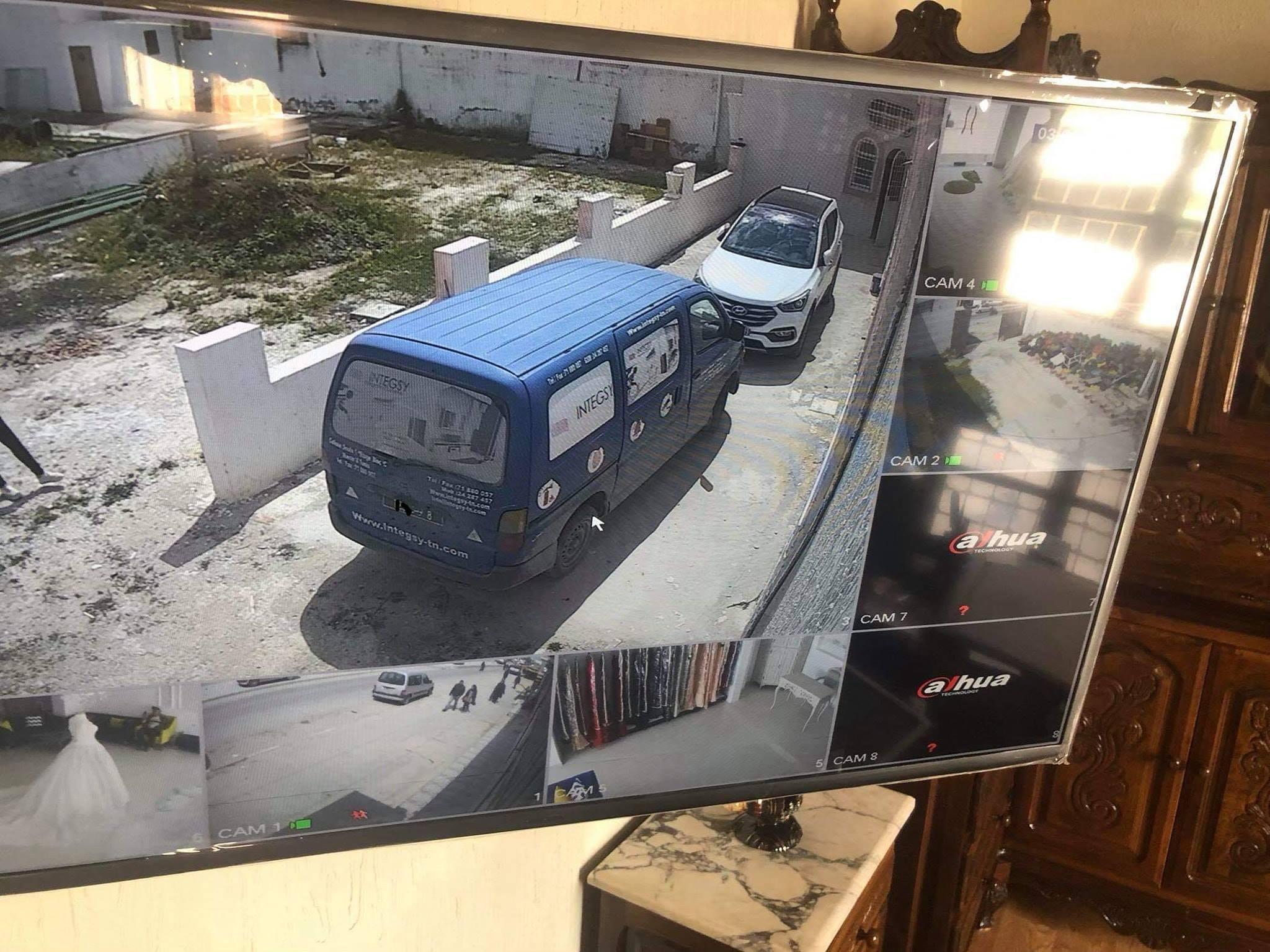Installation Vidéosurveillance Full HD