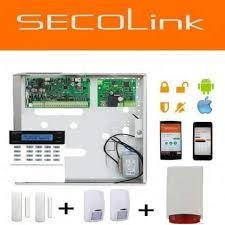 Kit Centrale alarme secolink avec 2 détecteurs et 2 contacte