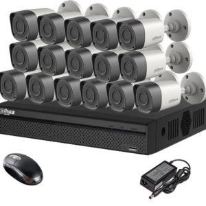 Kit vidéo surveillance NVR 16 entrée ET 16 CAMERAS DAHUA 2mp