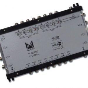 Multiswitch Alcad 2SAT/8Sorties MB202
