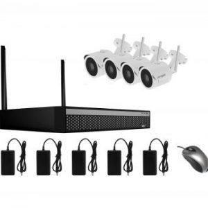 kit vidéo surveillance sans fil longse