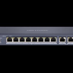 Switch Poe Hikvision 8 ports DS-3E0310P-E/M